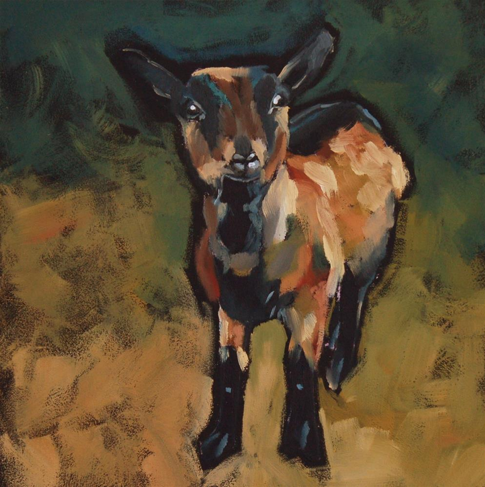 """Midge"" original fine art by Philla Barkhorn"