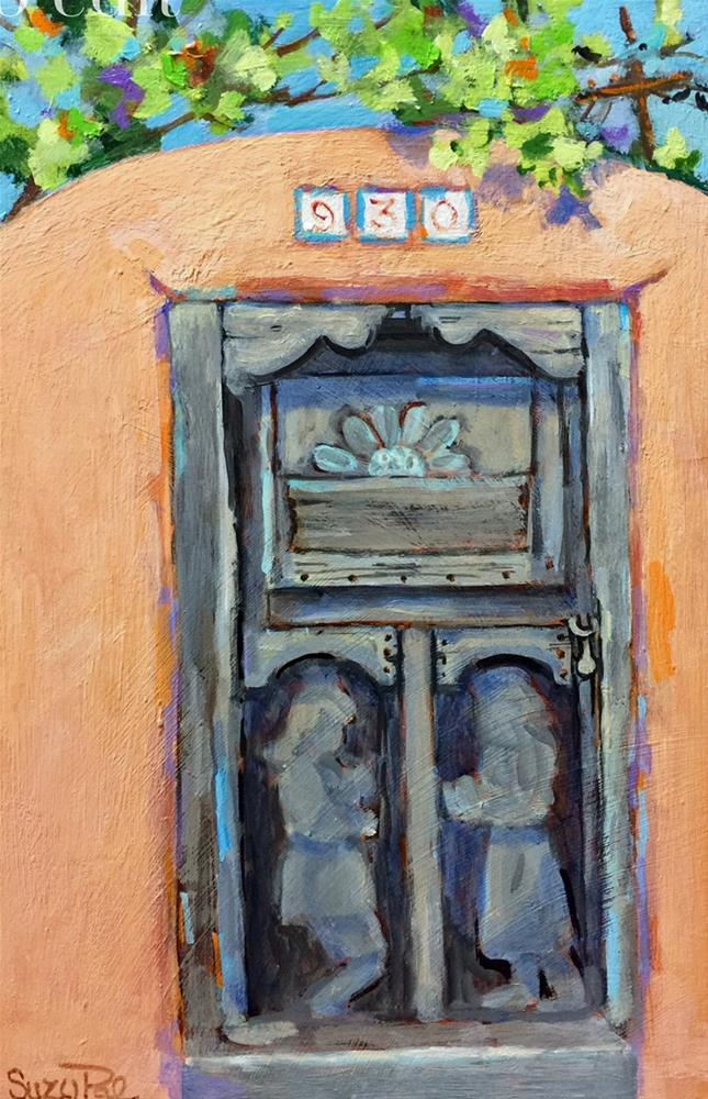 """Santa Fe #30"" original fine art by Suzy 'Pal' Powell"