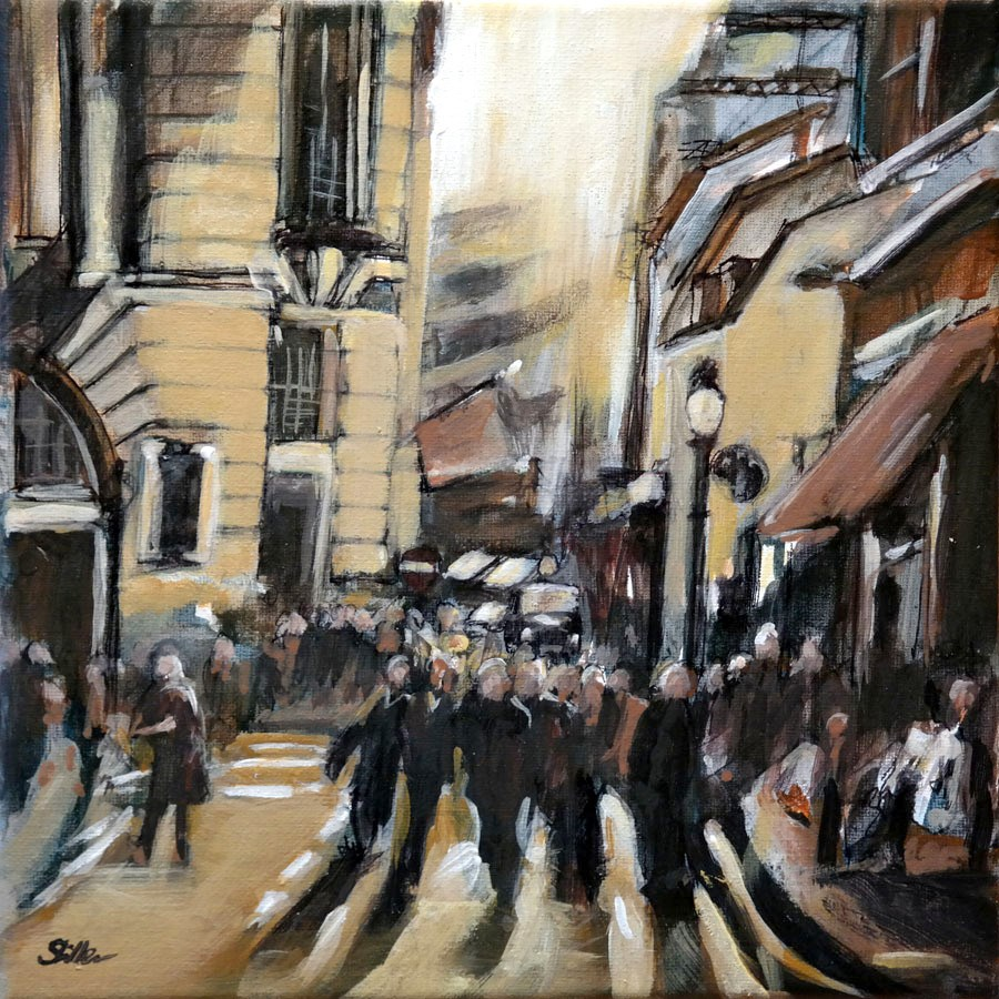 """1543 Regent Street"" original fine art by Dietmar Stiller"
