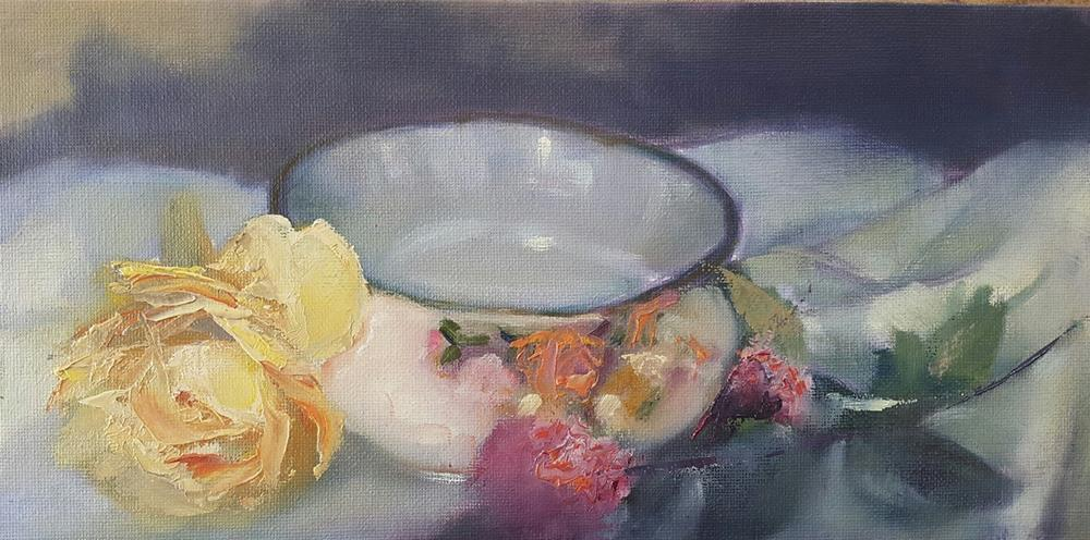 """Royal Albert"" original fine art by Rentia Coetzee"