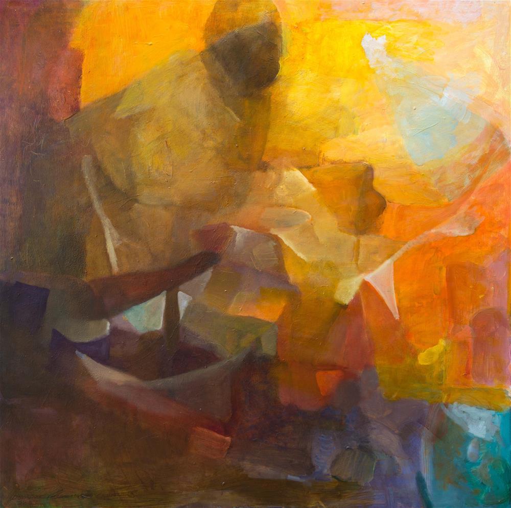 """Man of the Canyon"" original fine art by Deirdre McCullough Grunwald"