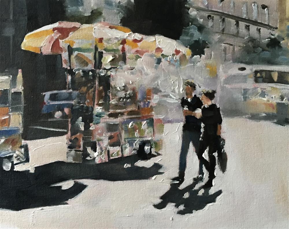 """Street Food"" original fine art by James Coates"