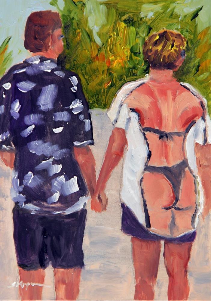 """""""Only in Key West"""" original fine art by Shelley Koopmann"""