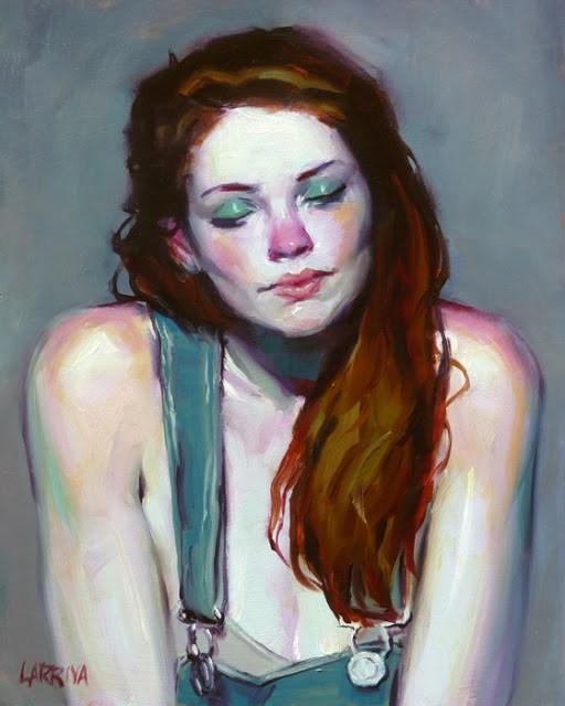 """Overalls"" original fine art by John Larriva"