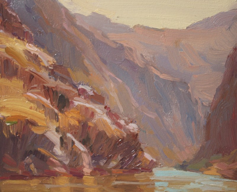 """Grand Canyon"" original fine art by Kathryn Townsend"