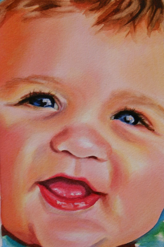 """""""Without Guile"""" original fine art by Crystal Cook"""