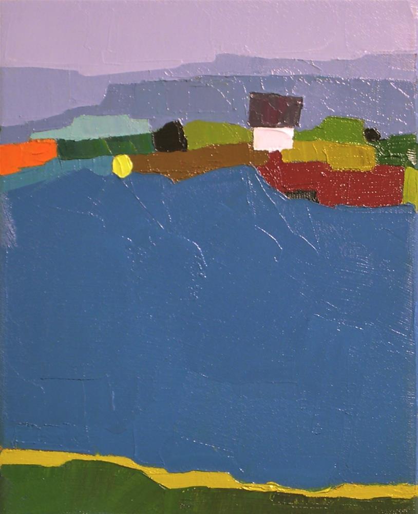 """Shoreline"" original fine art by Donna Walker"