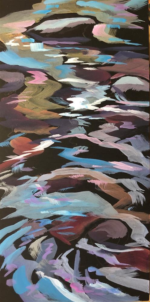 """Music of Nine Mile Creek"" original fine art by Kat Corrigan"