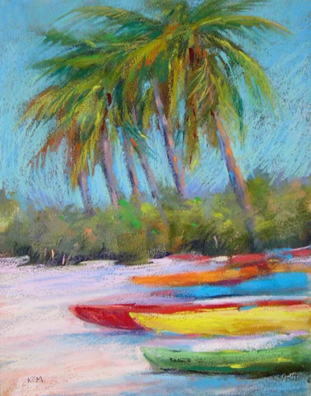 """A Wonderful Alternative to a Home-made Pastel Surface"" original fine art by Karen Margulis"