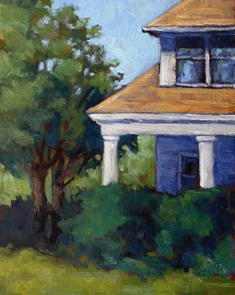 """In the Garden"" original fine art by Lisa Kyle"