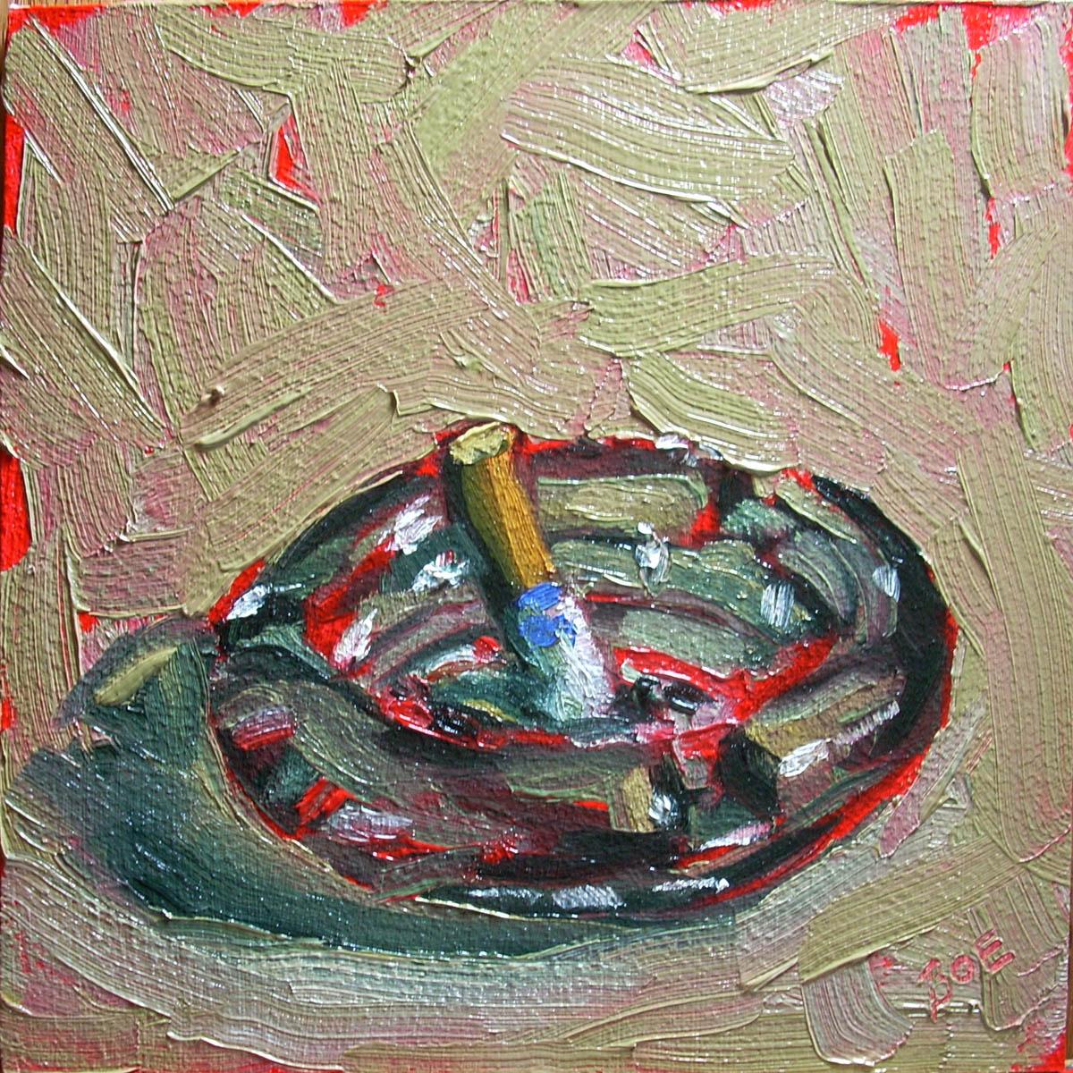 """Mon Ami Vice"" original fine art by Karen Boe"