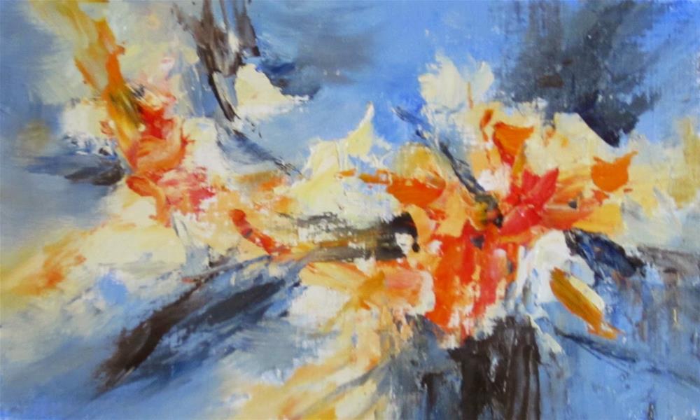 """""""Abstract I"""" original fine art by Pat Fiorello"""