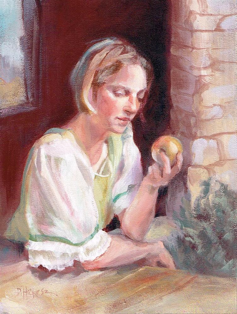 """Terlingua Golden"" original fine art by Theresa Taylor Bayer"