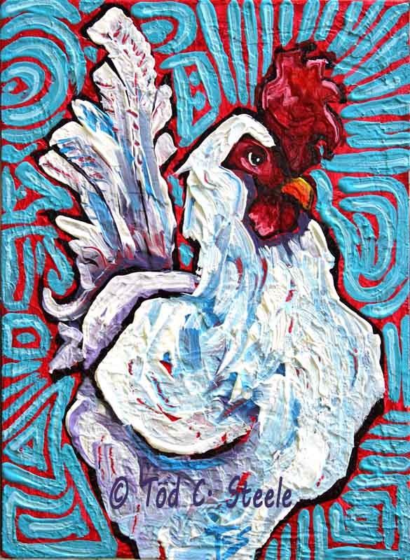 """Feather Locklear by Tod C. Steele"" original fine art by Tod Steele"
