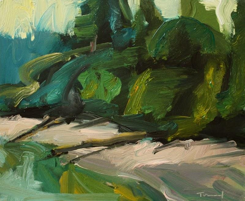 """Zangle Cove"" original fine art by Kathryn Townsend"