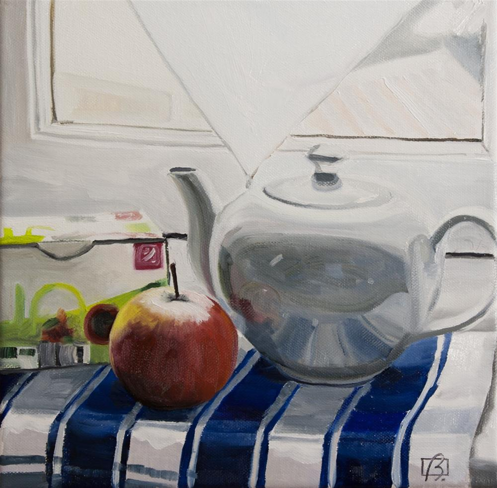 """An Apple A Day"" original fine art by Andre Beaulieu"