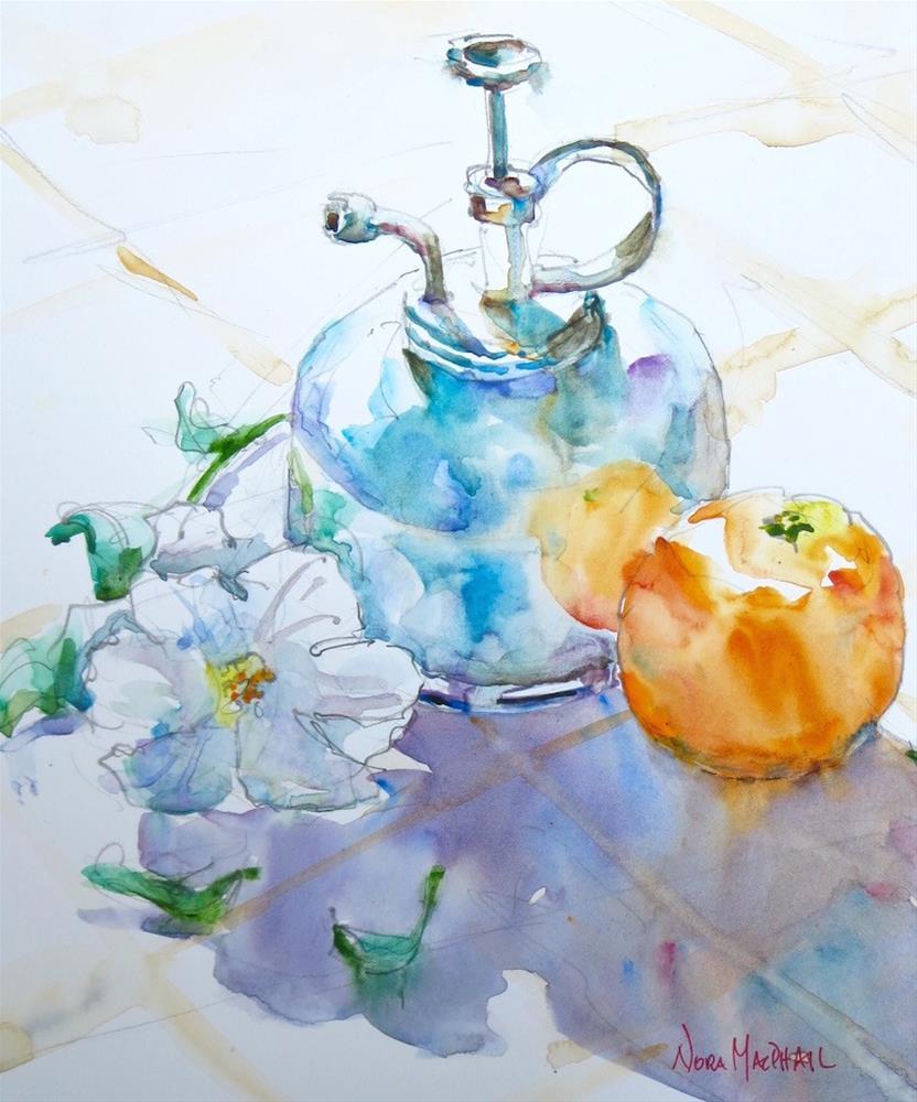 """morning light"" original fine art by Nora MacPhail"