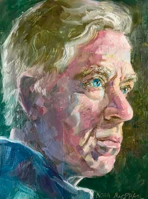 """Jim's look"" original fine art by Nora MacPhail"