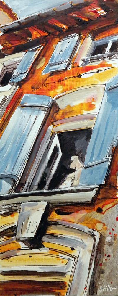 """""""2630 Égoïste"""" original fine art by Dietmar Stiller"""