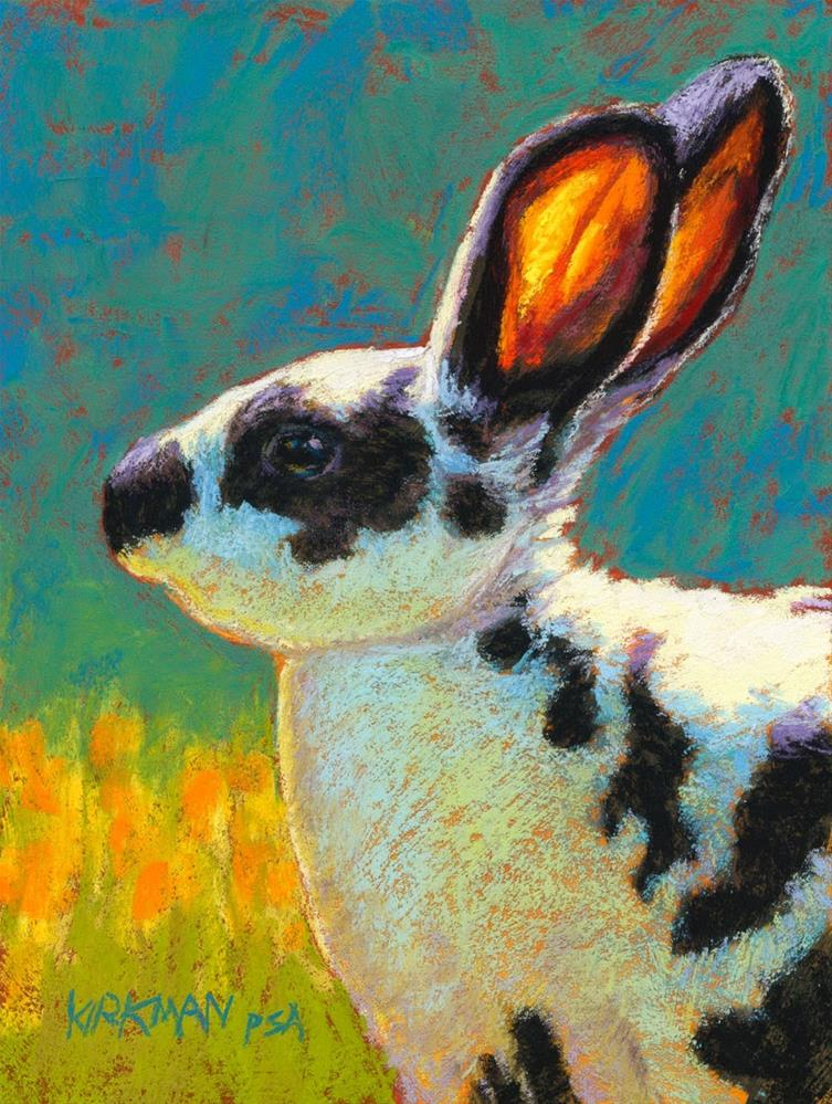 """Dotty"" original fine art by Rita Kirkman"