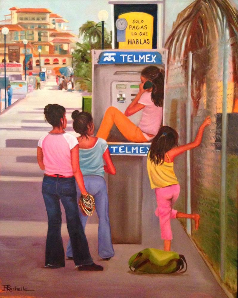 """Cabo Girls"" original fine art by Beth Moreau"
