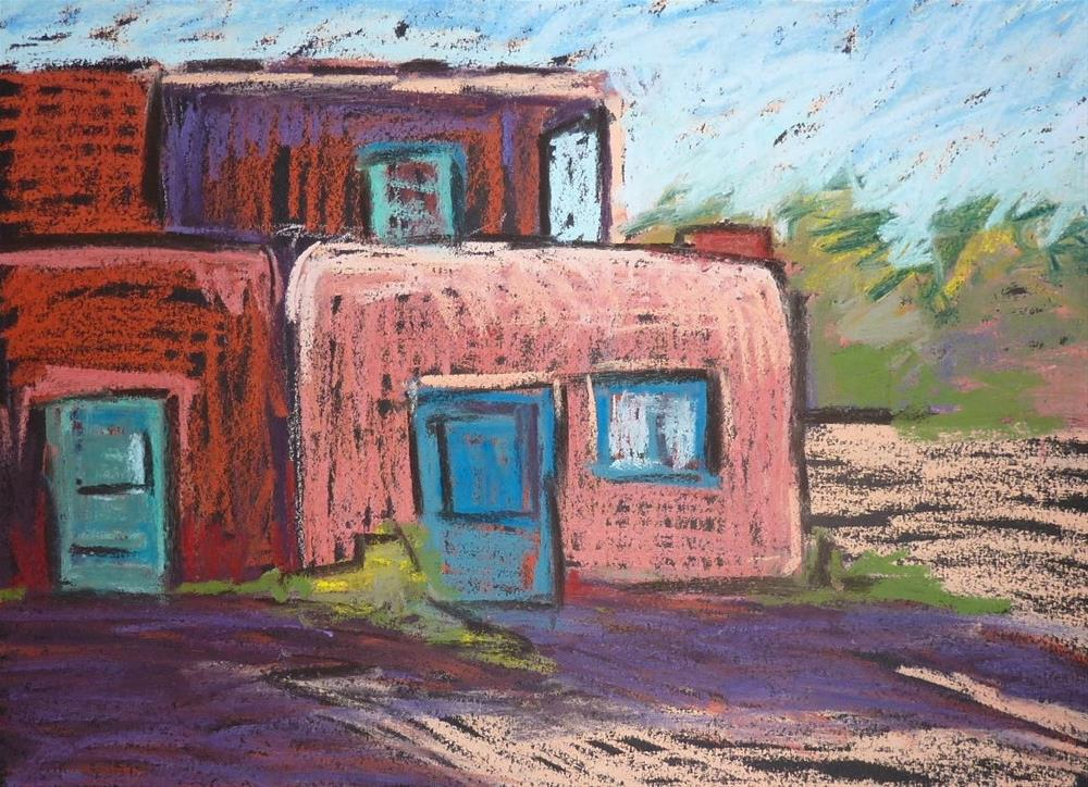 """On the Road Day 1"" original fine art by Karen Margulis"