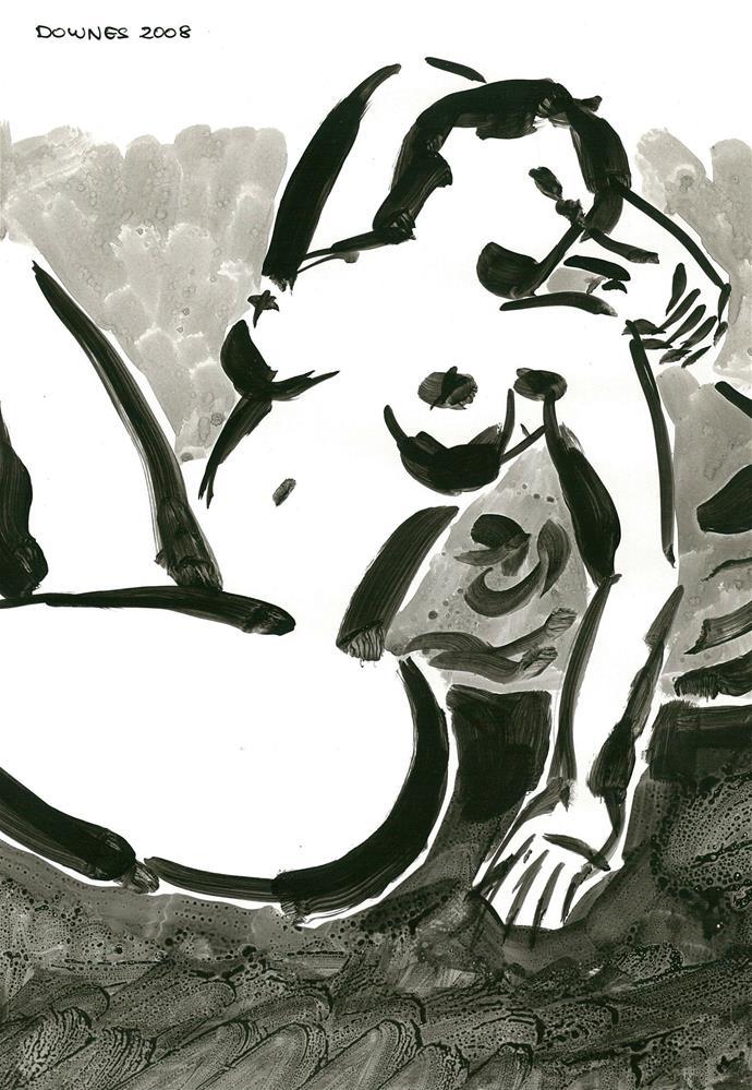 """""""211 ORIGINAL LIFE SKETCH 1"""" original fine art by Trevor Downes"""