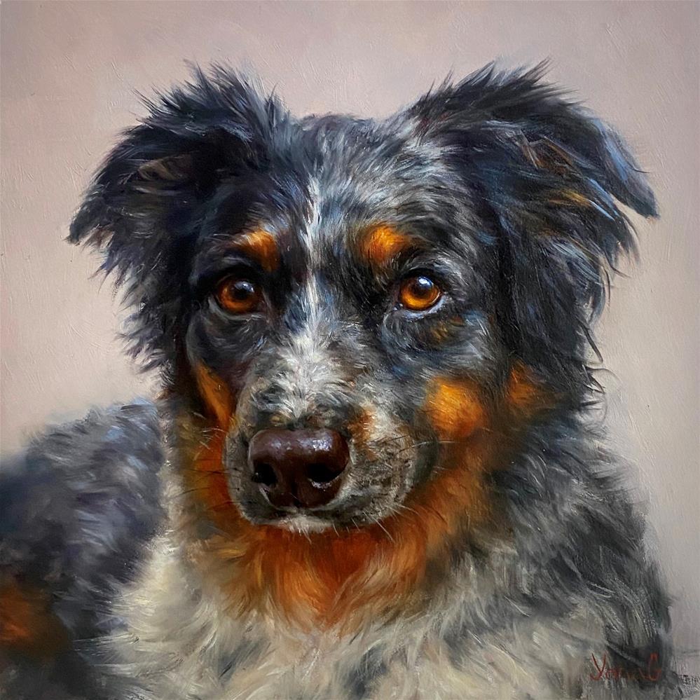 """Macie. "" original fine art by Yana Golikova"