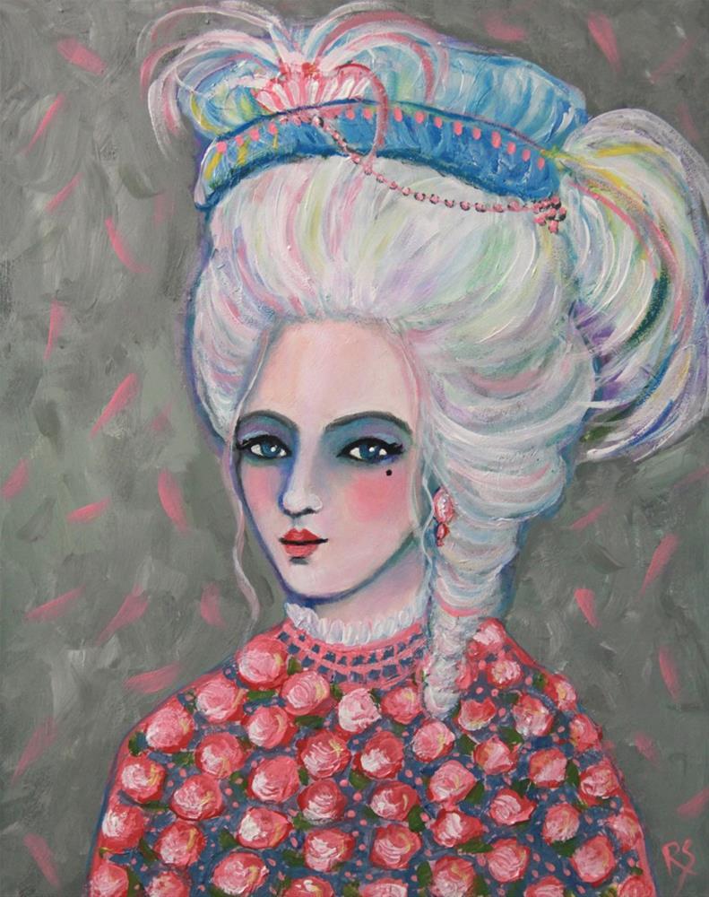 """""""Anna Marguerite"""" original fine art by Roberta Schmidt"""