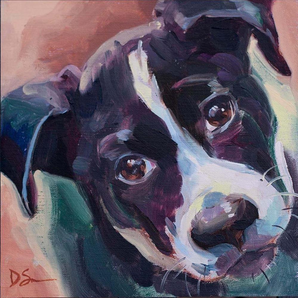 """Stella"" original fine art by Deborah Savo"