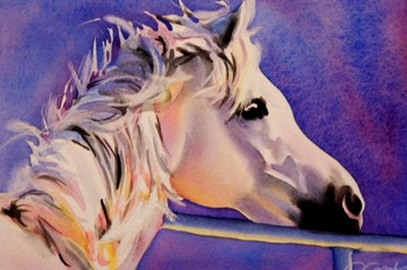 """Left Behind"" original fine art by Crystal Cook"