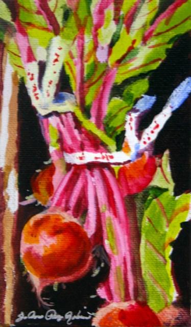"""The Beet Goes On"" original fine art by JoAnne Perez Robinson"