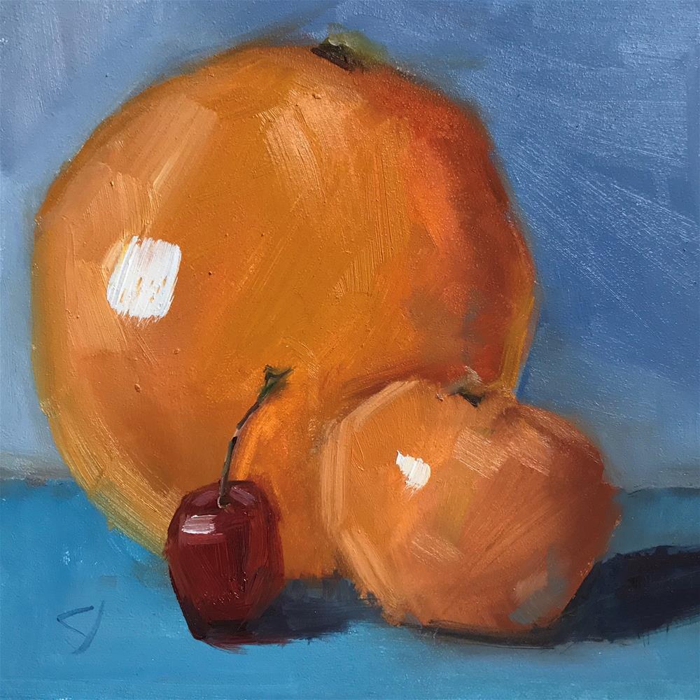 """48 Proportional"" original fine art by Carol Johansen"