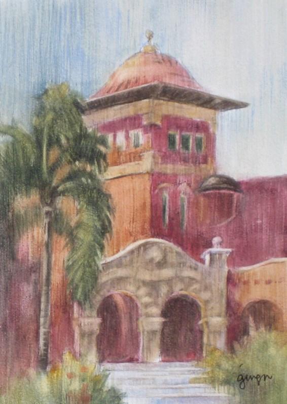 """The Front Entrance"" original fine art by Ginger Pena"