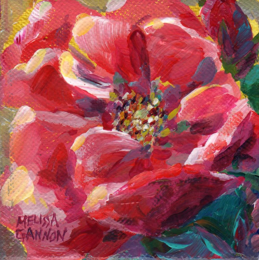 """Springtime Roses"" original fine art by Melissa Gannon"