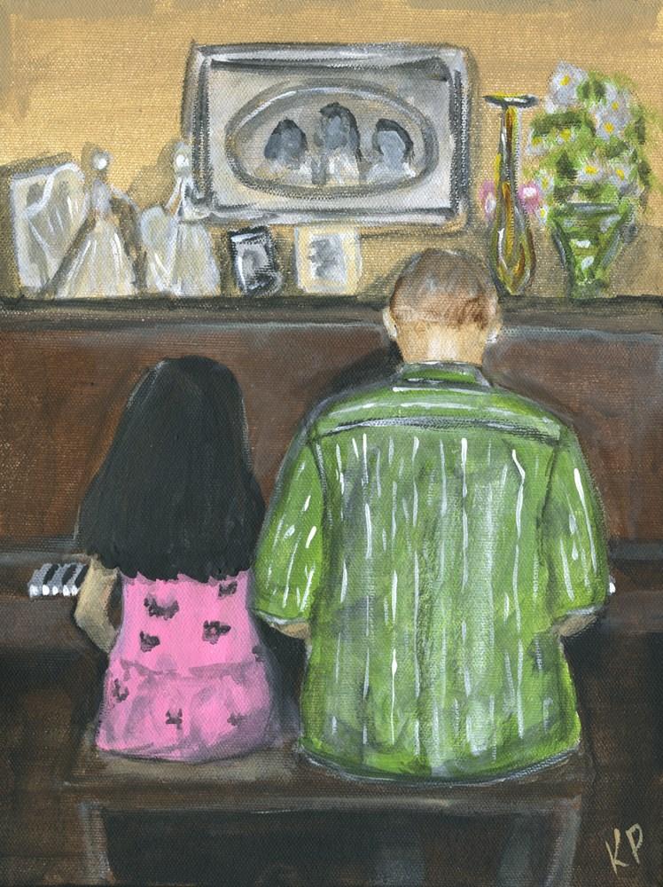 """Duet"" original fine art by Kali Parsons"