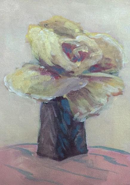 """Blooming"" original fine art by Jo-Ann Sanborn"