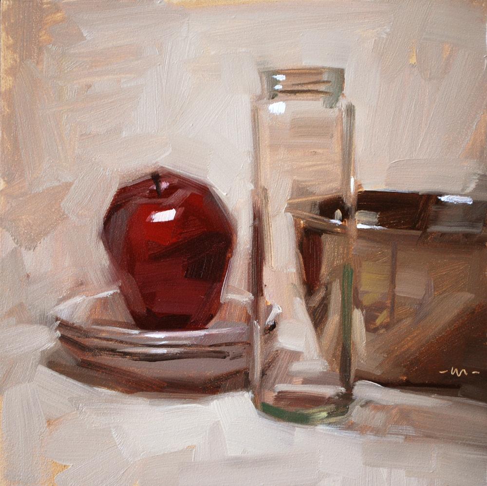 """""""You're So Transparent"""" original fine art by Carol Marine"""