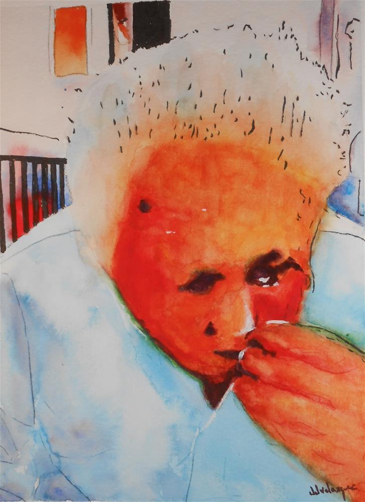 """Father"" original fine art by Juan Velasquez"