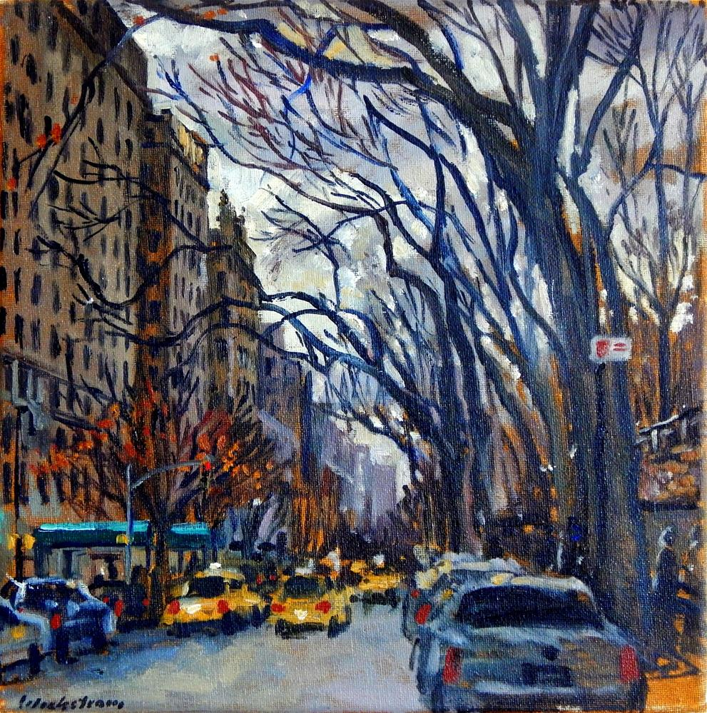 """Fifth Avenue in November, NYC"" original fine art by Thor Wickstrom"