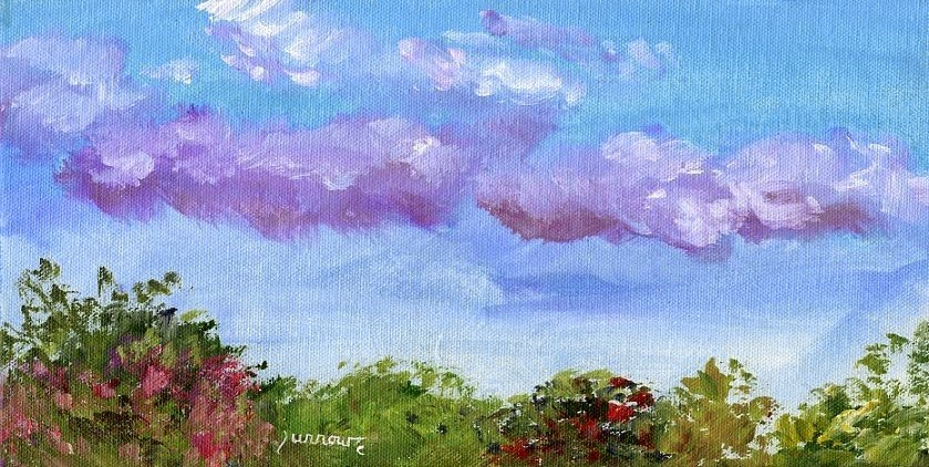 """PleinAir Painting in Bedford, Va."" original fine art by Sue Furrow"
