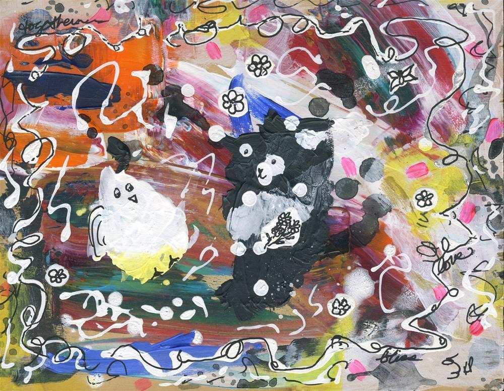 """Friends"" original fine art by Kali Parsons"