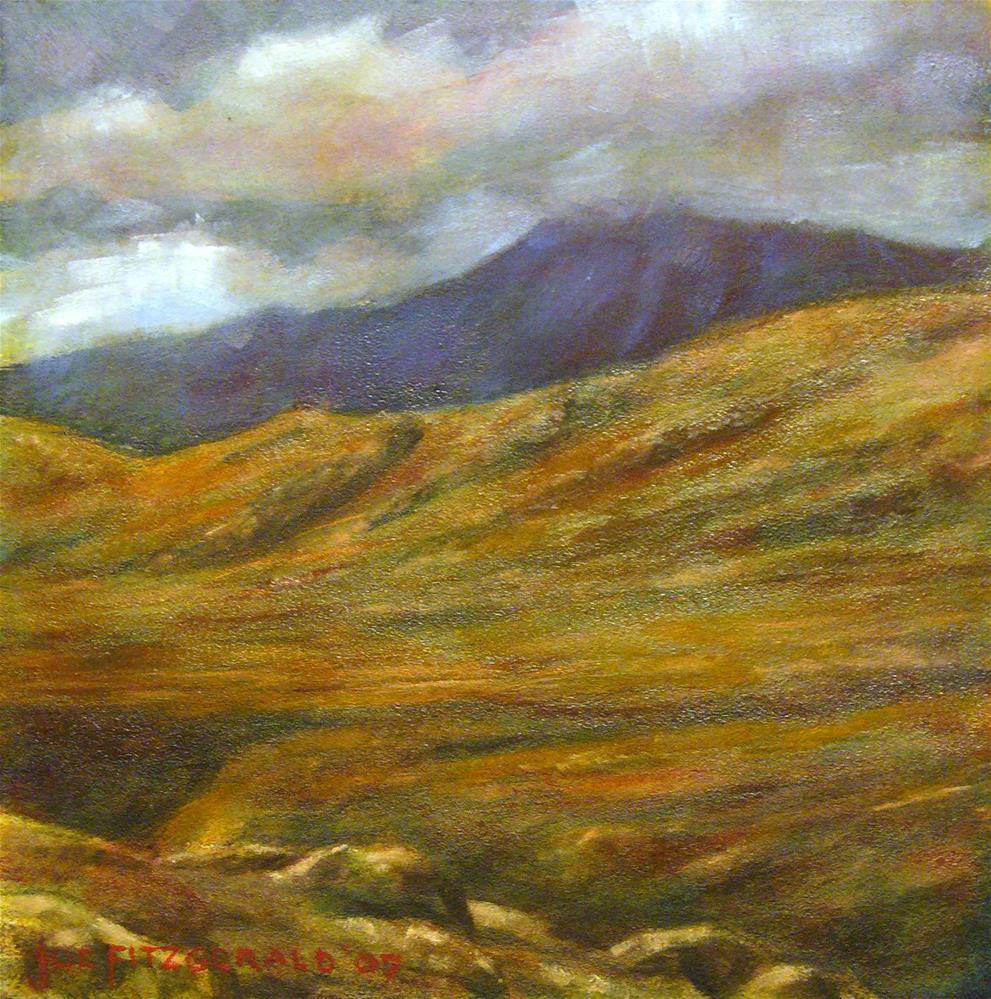 """Galway Heights"" original fine art by Joe Fitzgerald"