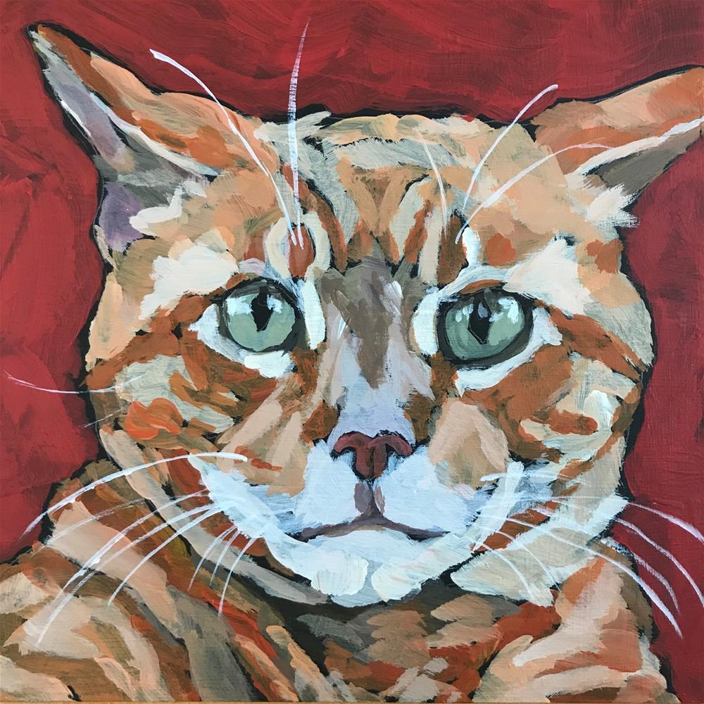 """Toulouse"" original fine art by Gina Garding"