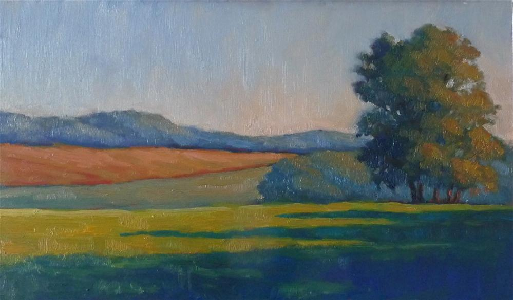 """Long Shadows"" original fine art by Lisa Kyle"