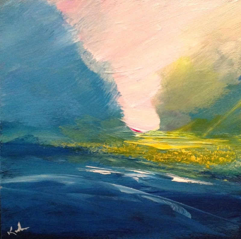 """Softly Strung"" original fine art by David Kuhn"