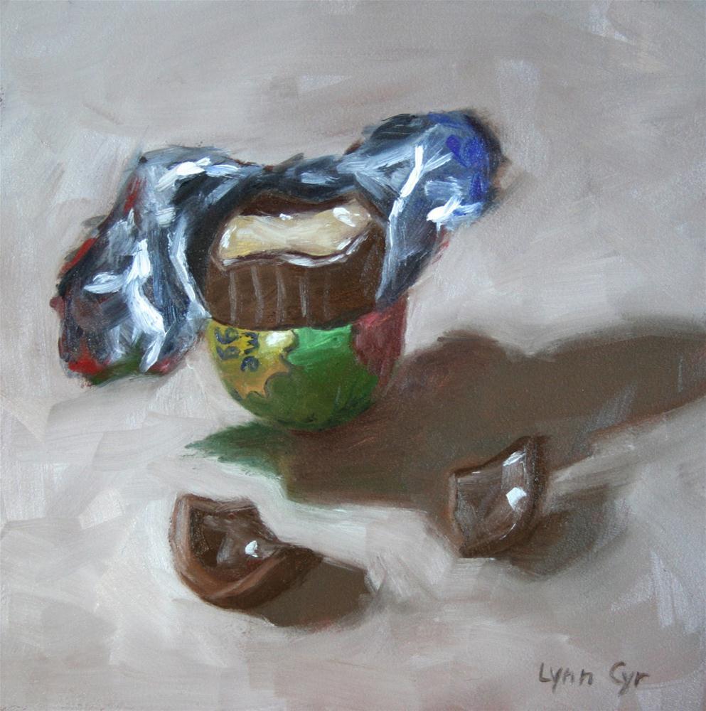 """""""Sweet Rewards"""" original fine art by Lynn Cyr"""