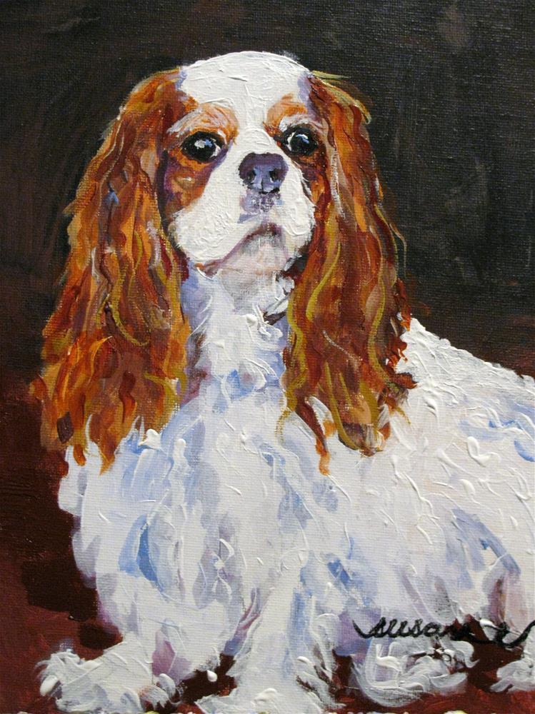 """""""Brinkley"""" original fine art by Susan Elizabeth Jones"""