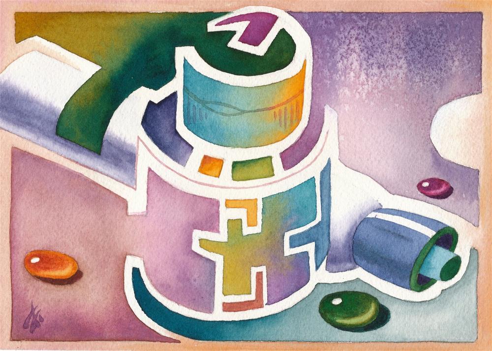 """Tools"" original fine art by Mark Allison"