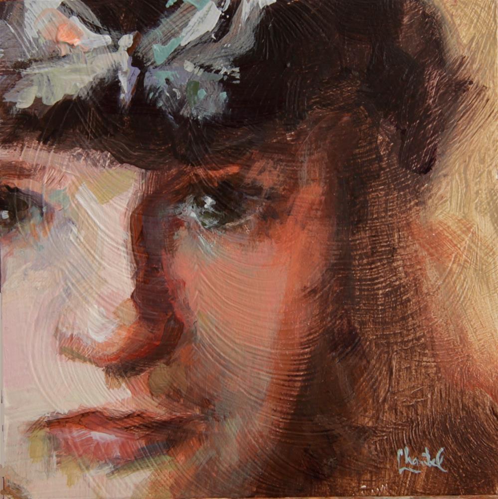 """""""Butterfly Tears"""" original fine art by Chantel Barber"""